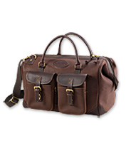 Make packing for all your travels a breeze with our men's leather carry-on bag.