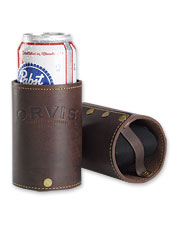 Leather Beverage Cozy