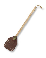 This Personalized Leather Fly Swatter is the perfect gift for hard-to-shop-for recipients.