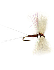 This Trico Mayfly pattern has wing material and lifelike construction.