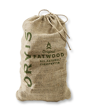 Our fatwood fire starter makes short work of creating a beautiful, glowing hearth.