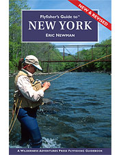 Discover abundant angling opportunities in this New York fly fishing guide book.