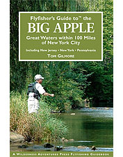 Fly fishing opportunities are revealed in and around New York in this area guide book.