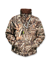 Fleece-Lined Full-Zip Waterfowl Jacket