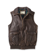 Heirloom Leather Gunner's Vest