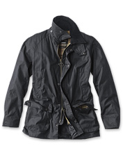 You'll love the versatile comfort of this medium-weight wax cotton jacket.