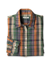 Jewel-Tone Plaid Shirt