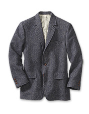 Stay warm without the bulk in the handsome Lightweight Highland Tweed Sport Coat.
