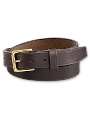 Heritage-Leather Woodsman Belt