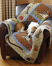 Dog Days Quilted Throws