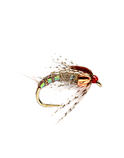 One of the most versatile nymphs for trout, the Holy Grail takes more fish in more situations.