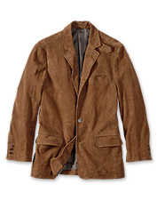 Our men's leather blazer is the perfect complement to any outfit.