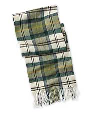 Wrap up in luxurious comfort and style with our Barbour Merino/Cashmere Blend Tartan Scarf.