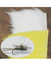 The perfect hair for posts and a must-have dry-fly tying material. Made in USA.