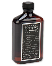 Keep your skin soft and comfortable with our trusty Porter's moisturizing lotion. Made in USA.