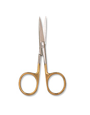 Cut and trim materials with precision using these fly tying scissors.