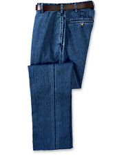 Denim Plain Chinos