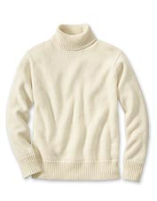 Pair our men's roll-neck pullover sweater with your favorite khakis for a handsome look.