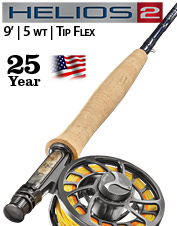 Helios 2 5-weight 9' Fly Rod—Tip Flex