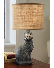 Elegant Kitty Lamp