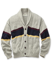 University Shawl Cardigan