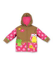 Child's Bright Creatures Raincoat