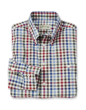 Multi-Color Cotton Slub Check Shirt