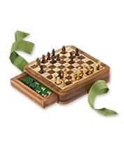 World's Smallest Wooden Chess Set