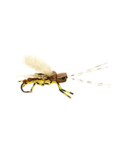 An excellent foam stonefly pattern that rides perfectly in the riffles.