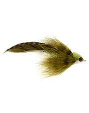 This attractive zonker fly pattern has the perfect blend of materials for great action.