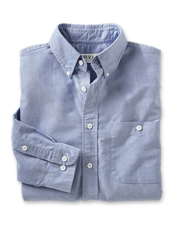 Heritage Washed Long-Sleeved Oxford