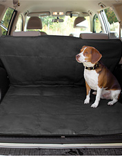 Keep car leather and upholstery safe with our protective dog blanket. Made in USA.