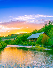 Orvis-Endorsed Fly-Fishing Lodge in Warm River, Idaho.