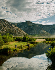 Orvis-Endorsed Fly-Fishing Lodge in DeBeque, Colorado.