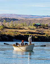 Orvis-Endorsed Fly-Fishing Lodge in Fort Smith, Montana.