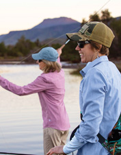 Experience Montana fly fishing at its best on this trip to Hubbard's Yellowstone Lodge.