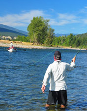 Orvis-Endorsed Fly-Fishing Guide Services in Fernie, British Columbia