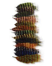 Barred fly-tying marabou feathers give a natural mottled look to any pattern.