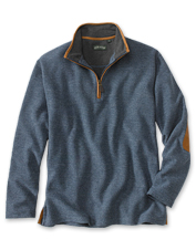 You'll appreciate the rugged details in our Simoom Tweed Quarter-Zip Sweatshirt.