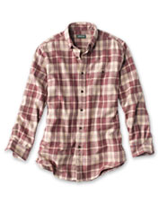 The favorite flannel shirt gets a modern update with a large-scale, exploded plaid pattern.