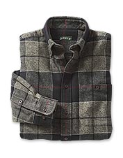 You'll love the midweight versatility of our long-sleeve flannel shirt.