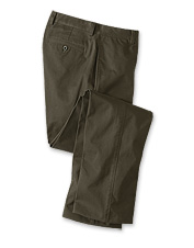 Our ultimate cotton twill khaki pants are as handsome as they are comfortable.