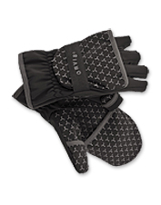 Our handy convertible fingerless gloves protect your hands and expose your fingers only when needed.