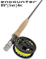 An all-around affordable fly rod ideal as a first time rod or backup option.