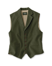 You'll love the classic appeal of our Moleskin Lapel Vest.