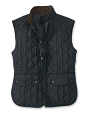 Barbour's Lowerdale Gilet layers beautifully, over and under—perfect for shoulder seasons.