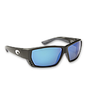 Polarized blue mirror sunglasses perfect for chasing bluewater sport fish.