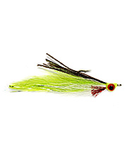 These flies incorporate the best design aspects of the Clouser and Deceiver into one!