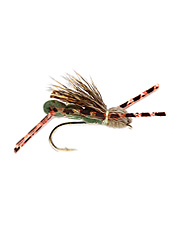An effective Yellowstone area grasshopper fly pattern that will work well for you locally, too.
