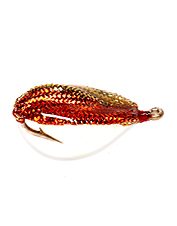 Redfish love the action of these easy-to-cast spoon flies.